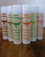 Jess' Bee Natural Lip Balms