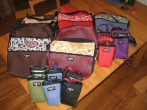OLovesM reclaimed yoga mat bags